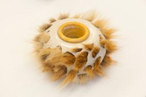 Keramikgefäß von Claudia Friedrichs, Sonderausstellung 2013: anorganisch