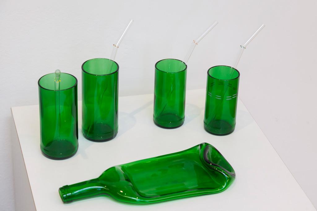 Glasobjekte von Irene Maria Borgardt, Sonderausstellung 2015 Verwandlung