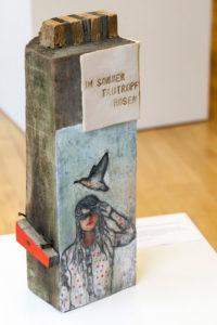 Skulptur von Denise-Kathrin Stehr, Sonderausstellung 2015 Verwandlung