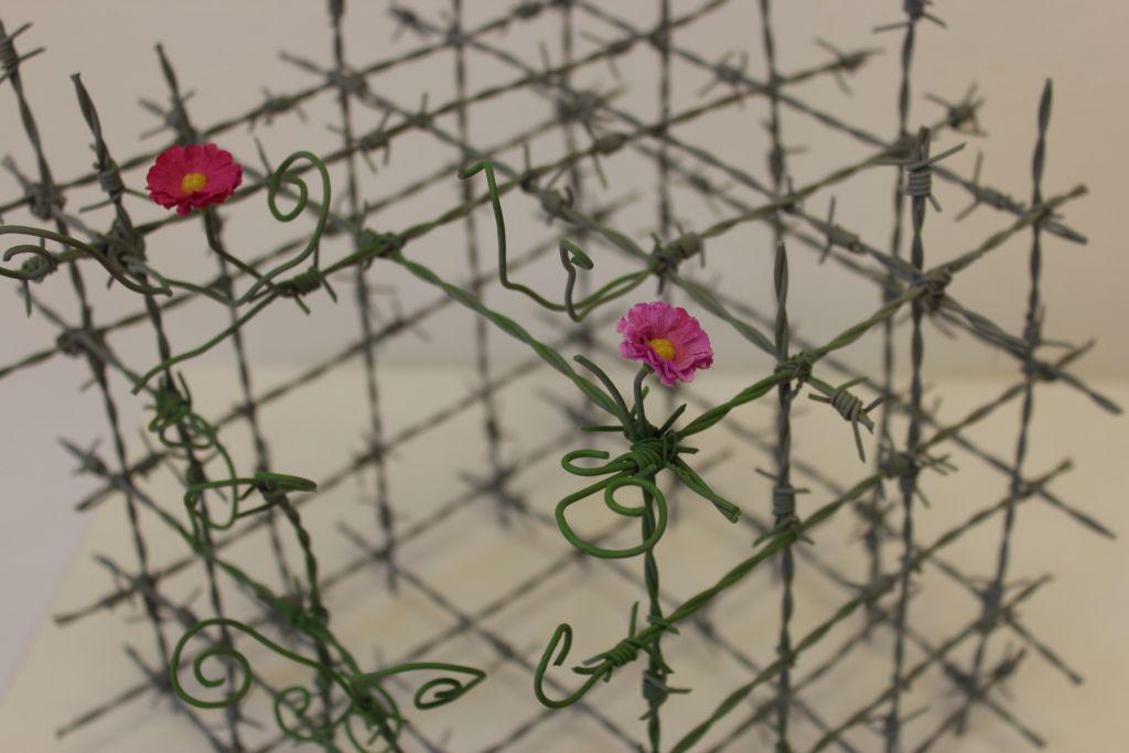 Gitterwürfel von Arndt Böhm, Sonderausstellung 2016 Aufbruch
