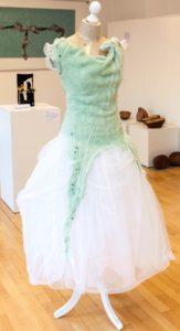 das Kleid von Johanna Gramann, Sonderausstellung 2016 Aufbruch