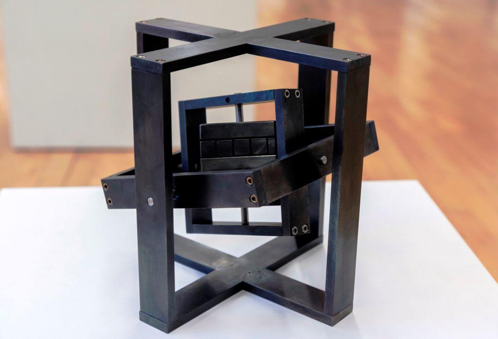 cardan cube von Arndt Böhm, Sonderausstellung 2018 fünfundzwanzig