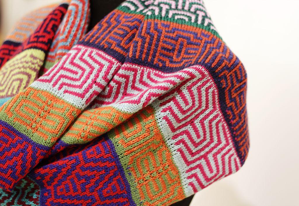 25 Muster & 25 Farben von Susanne Ihden, Sonderausstellung 2018 fünfundzwanzig
