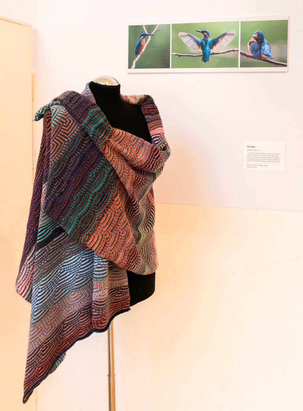 Eisvogel von Susanne Ihden, Sonderausstellung 2019 Begegnungen