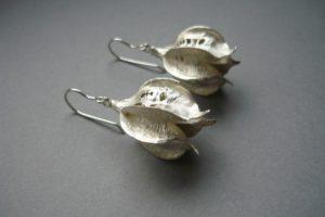 Silberohrringe von Vera Schellhorn