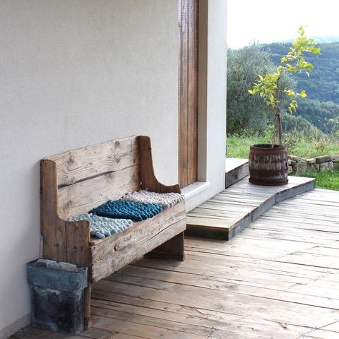 Sitzkissen von Michelle Mohr