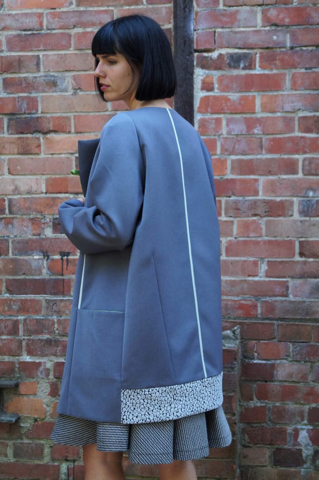 Blaue Jacke von Gisela Berg