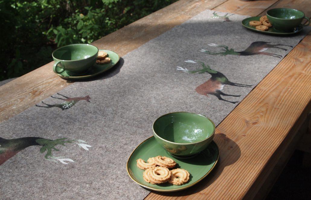 Tischläufer von Eva Clara Fabian