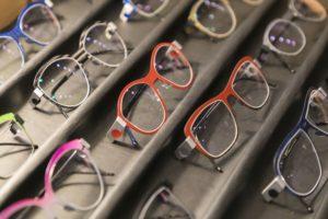 Auswahl Brillengestelle von Peter Resch