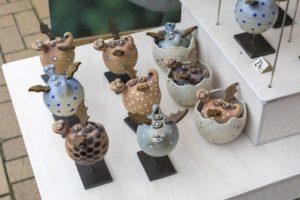Drachen-Figuren von Arndt Böhm