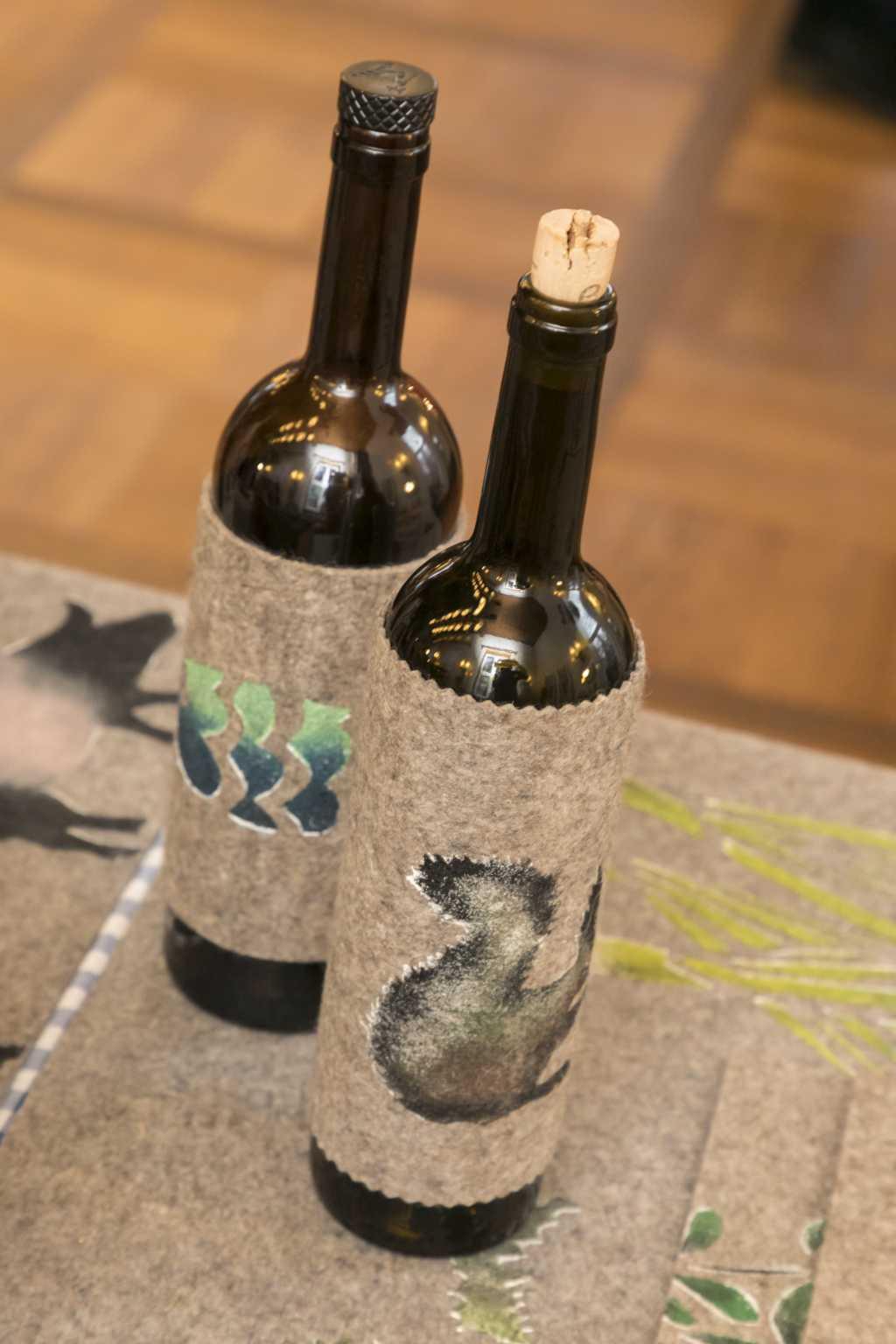 Flaschen-Dekoration von Eva Clara Fabian