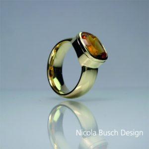 Herrenring Gelbgold von Nicola Busch