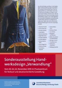 Sonderausstellung 2015 Verwandlung - Plakat mit Ausstellern