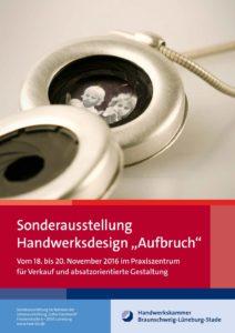 Sonderausstellung 2016 Aufbruch - Plakat Front