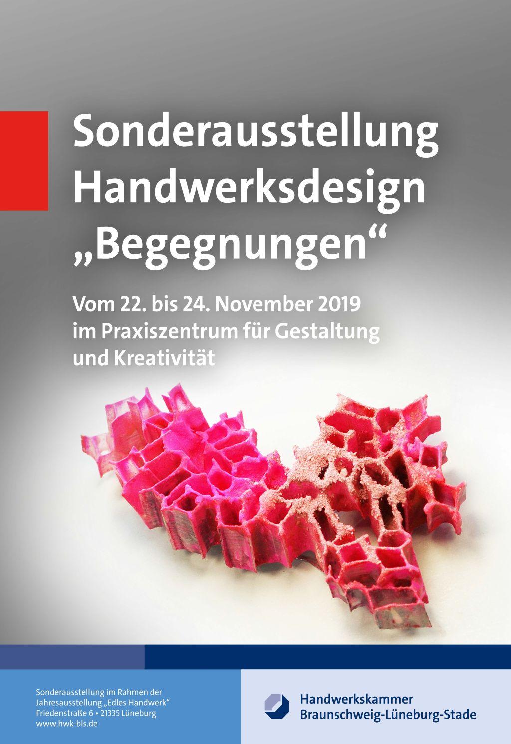 Sonderausstellung 2019 Begegnungen - Plakat Front