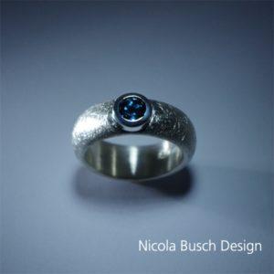 Silber Ring mit Topas von Nicola Busch