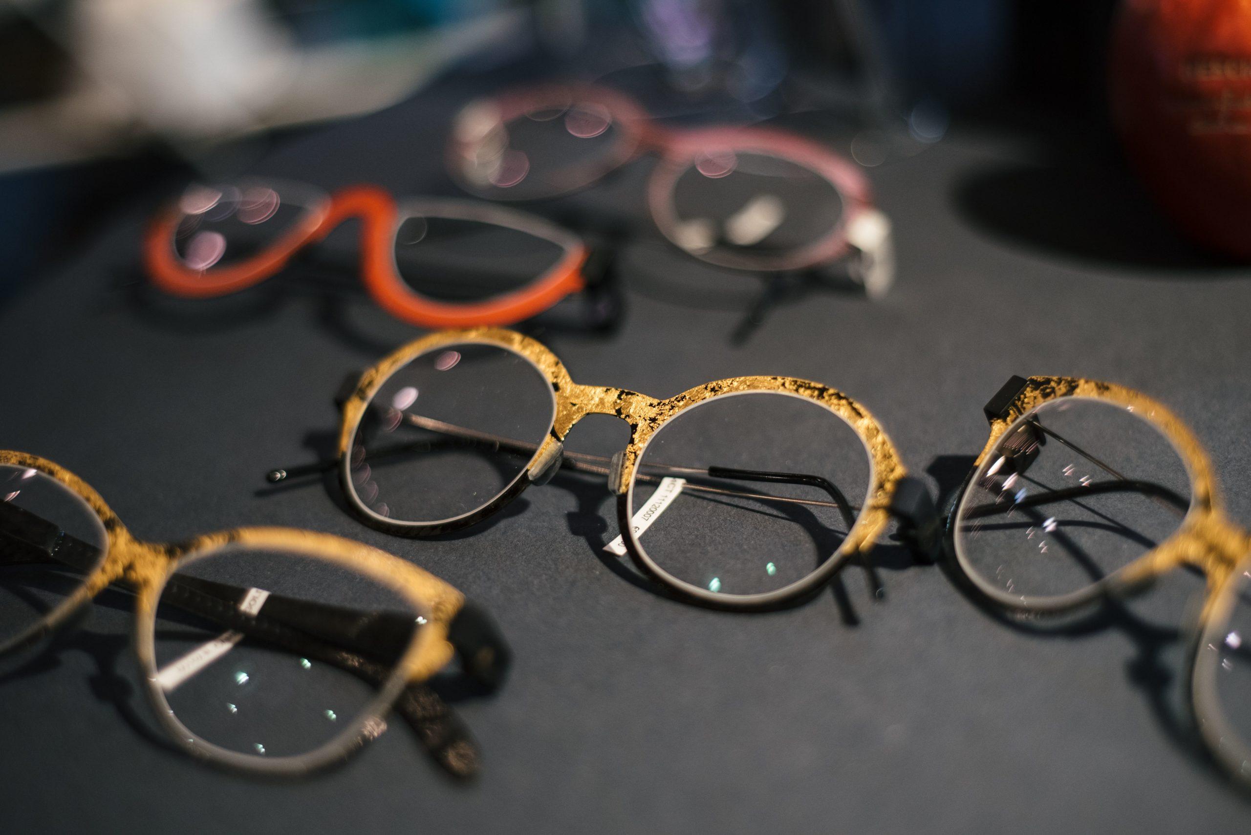 Brillen-Ausstellung von Peter Resch