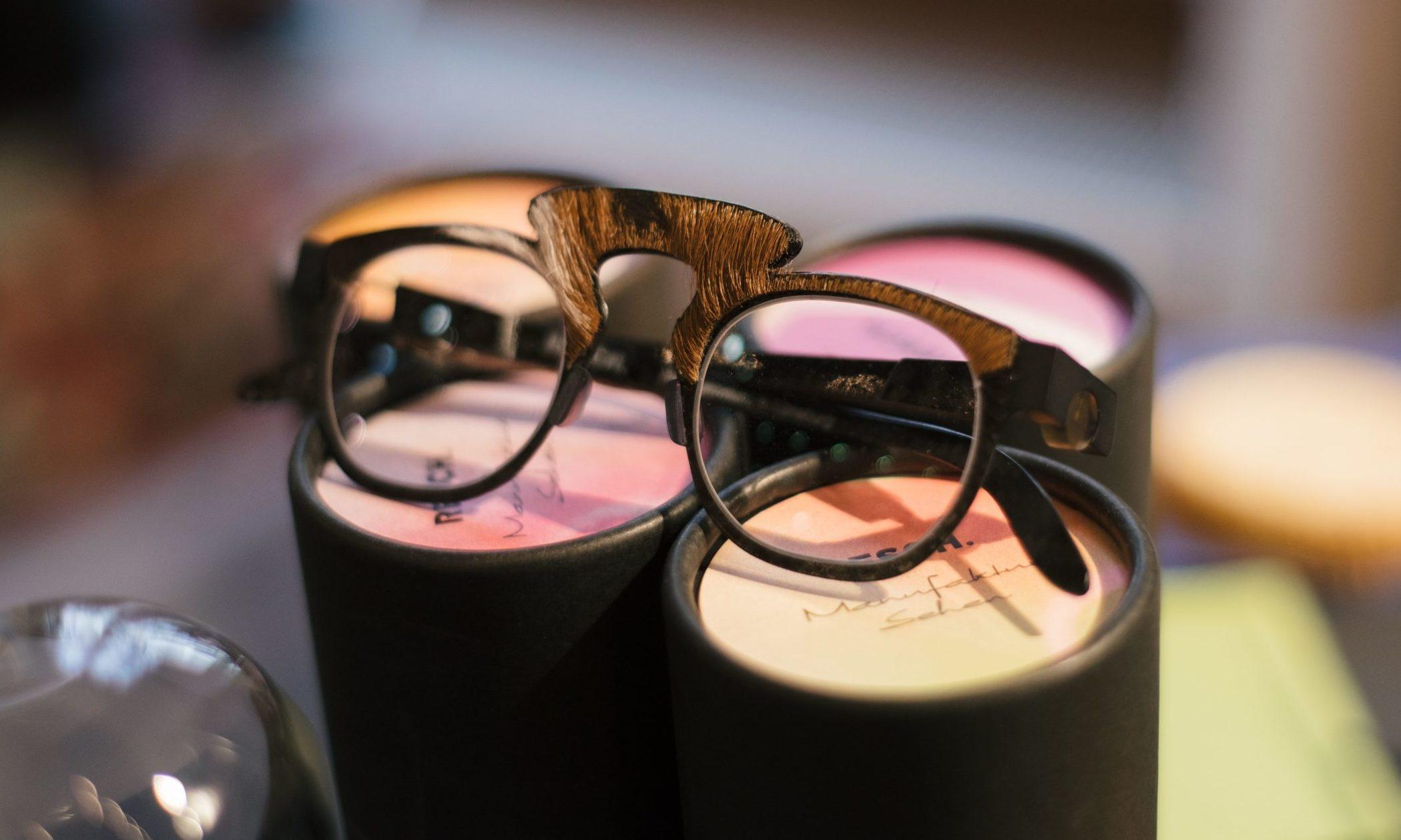Außergewöhnliches Brillengestell von Peter Resch