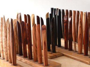 Holzstiele von Müller