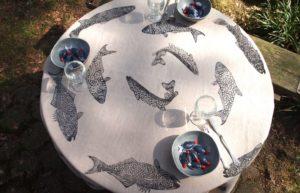 Tischdecke von Eva Clara Fabian